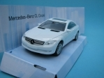Mercedes-Benz CL Coupe white 1:43 Mondo Motors